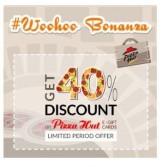 Pizza Hut e-Gift card 40% off at Woohoo